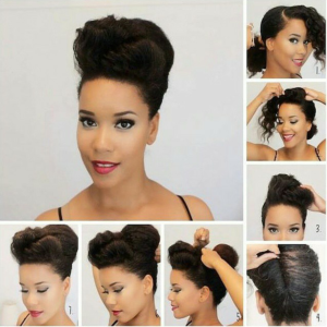 Hairstyles of the day