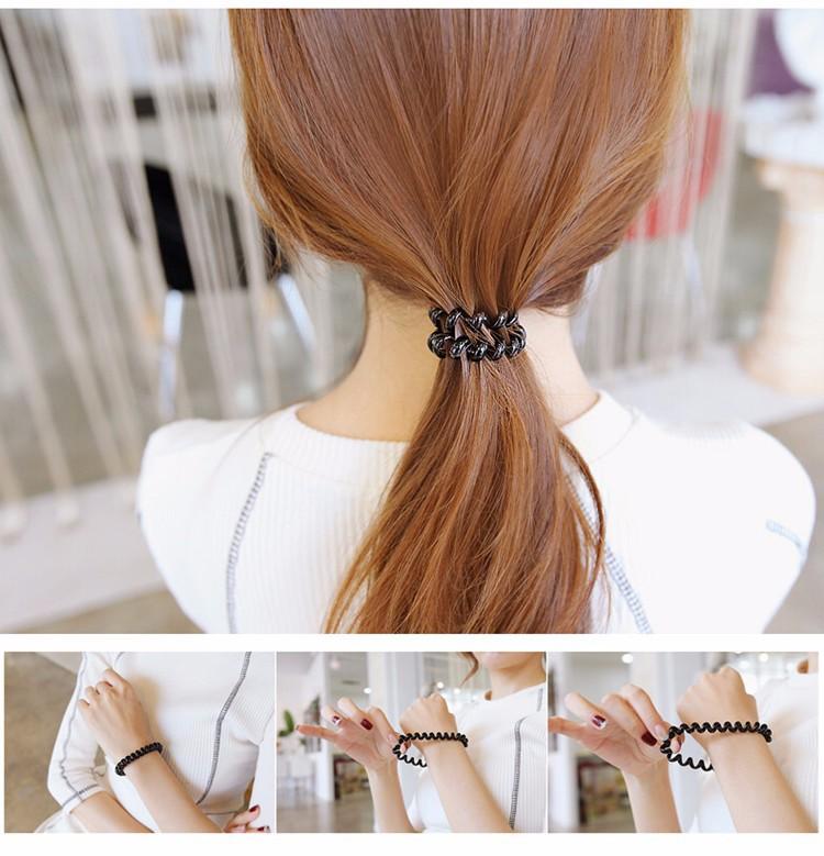Coil Hair Ties Hair Band - Look At Her Hair 7a6d944cd3d