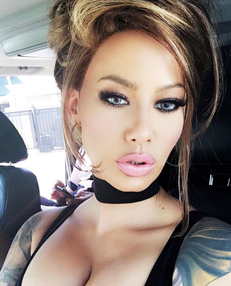 Excellent Amber Rose New Hair Look At Her Hair Short Hairstyles For Black Women Fulllsitofus